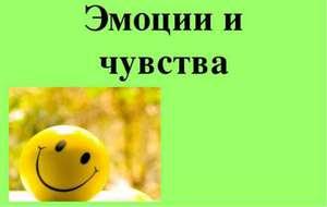 Эмоции и чувства - разница