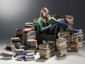 Чтение книг полезно