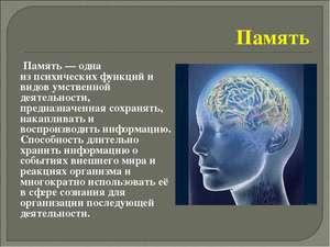 Память в психологии
