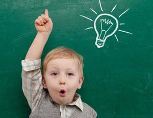 Ребенок с удовольствием получает новые знания