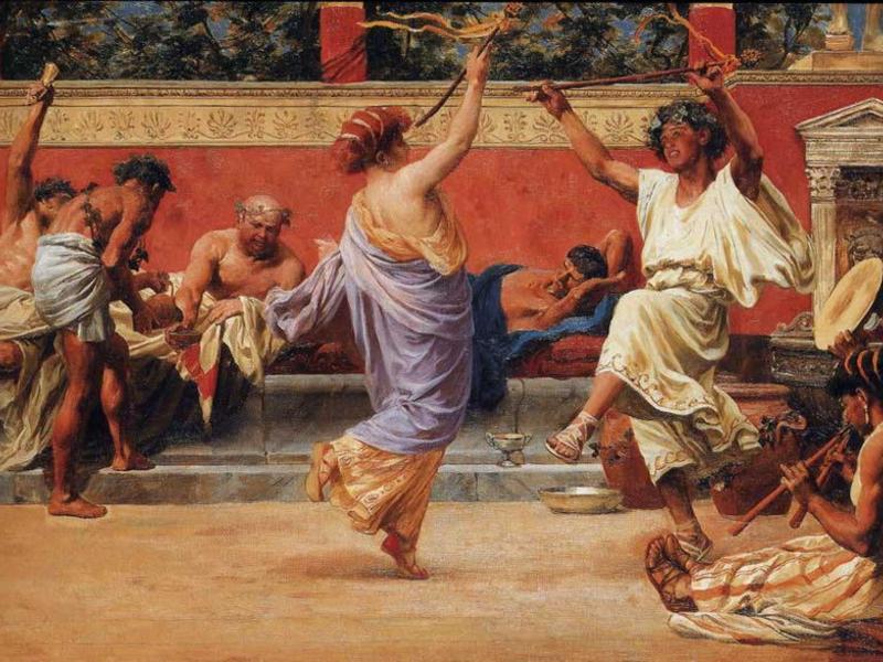 Секулярные игры древних римлян