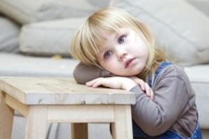 Благодаря вытеснению ребенок забывает о потерянной игрушке