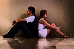 В паре меланхолики часто выясняют отношения
