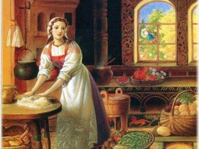 Домашние обязанности считались исключительно женскими