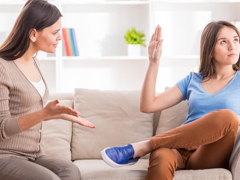 Отношения подростков и родителей