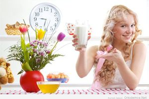 Описание природного снотворного из фруктов и кисломолочных продуктов