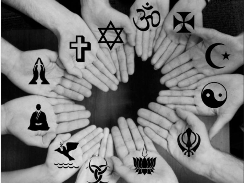 Все религии сводятся к поиску Бога