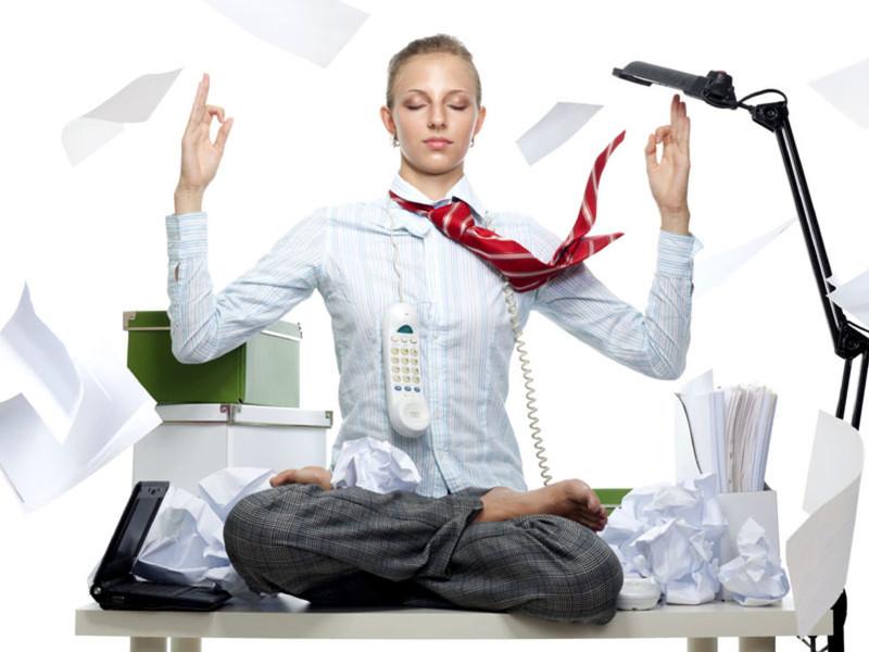 Как успокоиться на работе